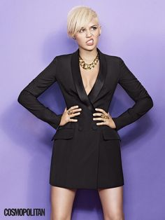 Miley Cyrus for Cosmo
