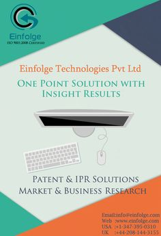 ONE POINT SOLUTIONS WITH INSIGHT RESULTS  1. #PATENT & #IPR SOLUTIONS 2. #MARKET & #BUSINESSRESEARCH