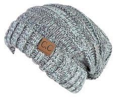 792b20e08678 Unisex Soft Stretch Knit Oversized Slouchy Beanie (Mint Multi Color). Touca SapatosGorro ...