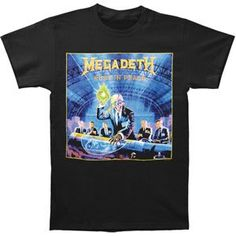 Megadeth Rust In Peace T-shirt for only $23.25  #Rockabilia