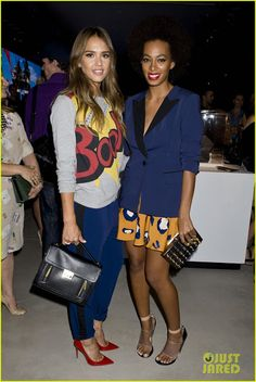 Celeb Diary: Jessica Alba, Solange Knowles & Emile Hirsch @ 3.1 Philip Lim for Target Launch Event