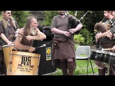 The Gael by Clanadonia - Scottish Drummers & Bagpipers in Glasgow - YouTube