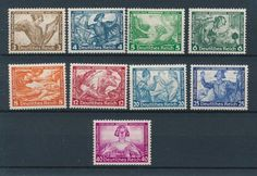 74922 Germany 1933 Good Set Very Fine MH Stamps Value $450 | eBay