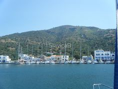 Sailing in to Greek Island