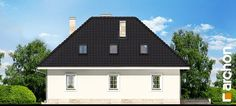 Projekt domu Dom w awokado - ARCHON+ Facade House, Home Fashion, Gazebo, Floor Plans, Outdoor Structures, Cabin, Flooring, How To Plan, House Styles