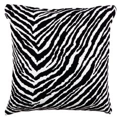Zebra cushion cover by Artek.
