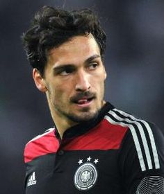 Here's a picture of Mats Hummels licking his lips. You're welcome.