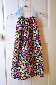 Pillowcase dress tutorial from 6 mos to adult.