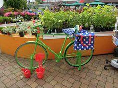 Green bike, landesgartenschau papenburg germany