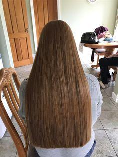Long Blunt Hair, Long Dark Hair, One Length Hair, Waist Length Hair, Super Long Hair, Silky Hair, Beautiful Long Hair, Rapunzel, Hair Lengths