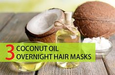 If you wish to give your hair the beauty and health then try these Overnight Coconut Oil Hair masks for everyone will make the hair shiny and silky at home
