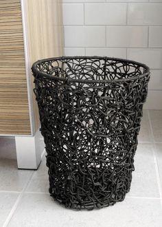 Home Decorator's Brown Tree Wastebasket