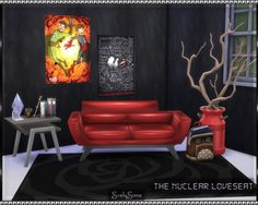 SrslySims | The Nuclear Loveseat