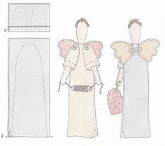 Anjos da Costura:tutorial