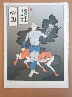 Megaman Japanese art