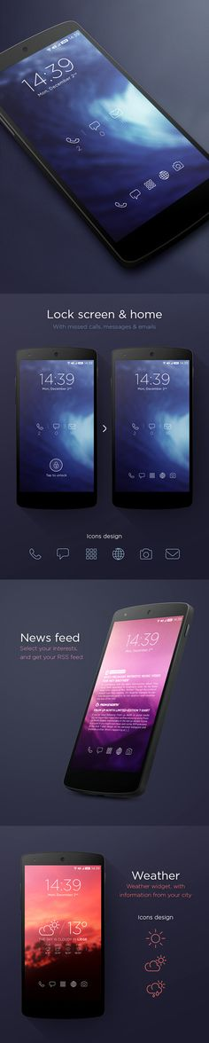 Purity Theme UI Designs and Concepts for Inspiration