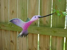 Flying PVC Hummingbird Bird by dadelight on Etsy Pvc Pipe Crafts, Pvc Pipe Projects, Outdoor Projects, Garden Crafts, Garden Projects, Projects To Try, Canopy Outdoor, Bird Patterns, Crafts To Do