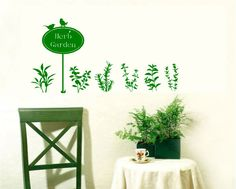 Various Color Grass Plant Bird Garden Decor Mural Art Wall Sticker Decal WY756 | eBay