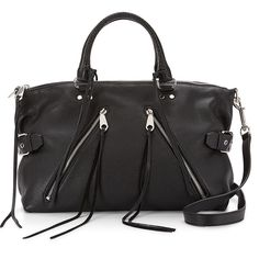Rebecca Minkoff Black Moto Satchel Bag Large Large Moto satchel in great shape, used only a few times. Absolutely love this bag! Rebecca Minkoff Bags Satchels