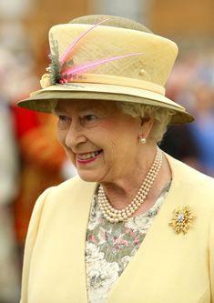 Queen Elizabeth II - Queen Elizabeth at a Garden Party