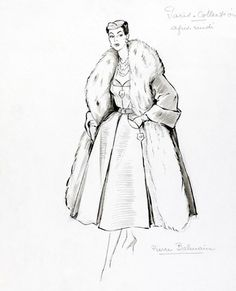 268 best fashion x images on pinterest Bibs Sketches fashion sketch by marcel fromenti dress illustration fashion illustration sketches fashion sketchbook