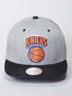 NY Knicks Snapback (Denim) – LVCK
