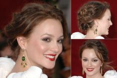 Leighton Meester - Best updos, up, do, hair, hairstyle, hairstyles, inspiration, celebrity, wedding, styles, beauty, Marie Claire