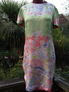 This beautiful silk cocktail dress was hand-made by a Chinese tailor for my mother in Rangoon in the early 1960s. I'm selling it now on my vintage fashion blog, http://metroretrooflondon.wordpress.com