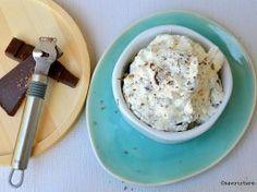 Cremă stracciatella cu mascarpone și ciocolată Oatmeal, Deserts, Ice Cream, Keto, Breakfast, Food, Gluten, Cakes, Cream
