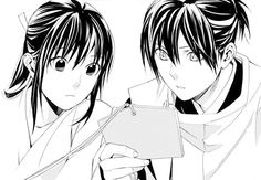 Noragami yato and hiyori.. this is my fav part!!! The cutest momment ever!!!