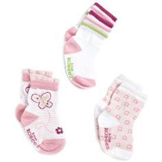 Robeez Baby-Girls Newborn 3 Pocket Butterfly Sock $9.99 - $10.00