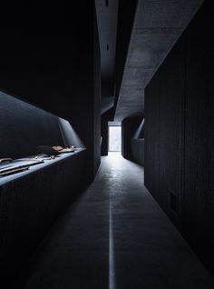 Allmannajuvet Zinc Mine Museum by Atelier Peter Zumthor & Partner AG Innovative Architecture, Museum Architecture, Ancient Architecture, Contemporary Architecture, Interior Architecture, Sustainable Architecture, Landscape Architecture, Shadow Architecture, Light Architecture