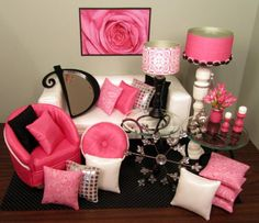 Doll house decorating ideas.