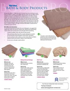 Save money, save time, do laundry less often and decrease the use of chemicals in your home! kellyschoger.norwex.biz