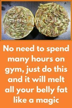 No need to spend many hours on gym, just do this and it will melt all your belly fat like a magic Today I am going to share an effective remedy to lose all extra weight from your body super fast Ginger juice (Make sure it is fresh) Cumin seeds Lemon What to do First take 1 big spoon of cumin seeds grind it very well to get in powder form Take 1 glass of water, add …