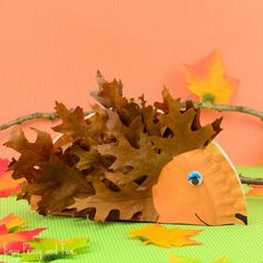 Paper Plate Hedgehog | Fun Family Crafts