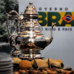 Café em recepção à presidente da República – Curitiba PR (Foto: Gilson Camargo).