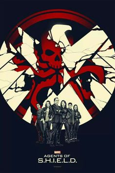 I love how Ward is outlined in red like the Hydra symbol and the others are outlined in white like the SHIELD symbol. Whoever made this is a brilliant artist