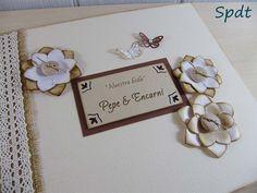 Libro firmas boda rústico