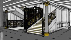 LUSITANIA DECK-BY-DECK D-DECK SECTION 2 - 3D Warehouse