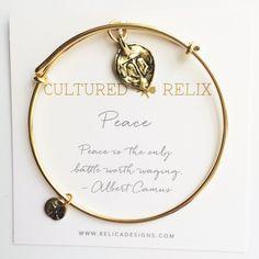 Peace Relic Bracelet