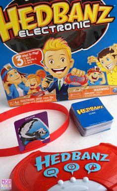We love this super fun game, HedBanz™ Electronic, for FAMILY GAME NIGHT! See the review at @momfindsout @spin_master #HedBanzElectronic #CG #sponsored