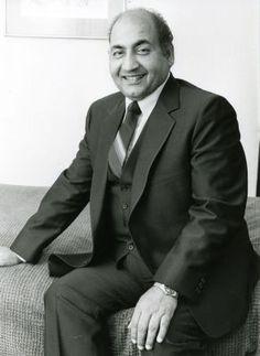 Mohd Rafi - the legendary singer.