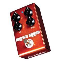 Rockbox Brown Sugar Distortion Pedal