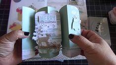 Up Side Down Mason Jar Fold-A-Long Card