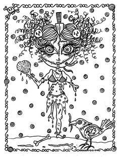 Halloween Coloring Book Page Fantasy Fantasie фэнтези fantasia fantasi colouring adult detailed advanced printable Zentangle anti-stress, Färbung für Erwachsene, coloriage pour adultes, colorare per adulti, para colorear para adultos, раскраски для взрослых, omalovánky pro dospělé, colorir para adultos, färgsätta för vuxna, farve for voksne, väritys aikuiset Line Art Black and White https://www.etsy.com/shop/ChubbyMermaid