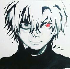 Tokyo ghoul Ken...draw by Lidia Edel