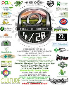 Field of Dreams - 4/20 - Colo. Springs