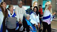68 años después, una bisabuela siria vuelve a casa ... a su familia judía de Israel