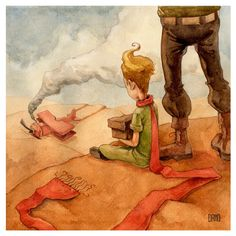 El principito en el desierto / enseñanzas